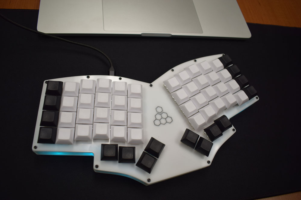 Glowforge keyboard