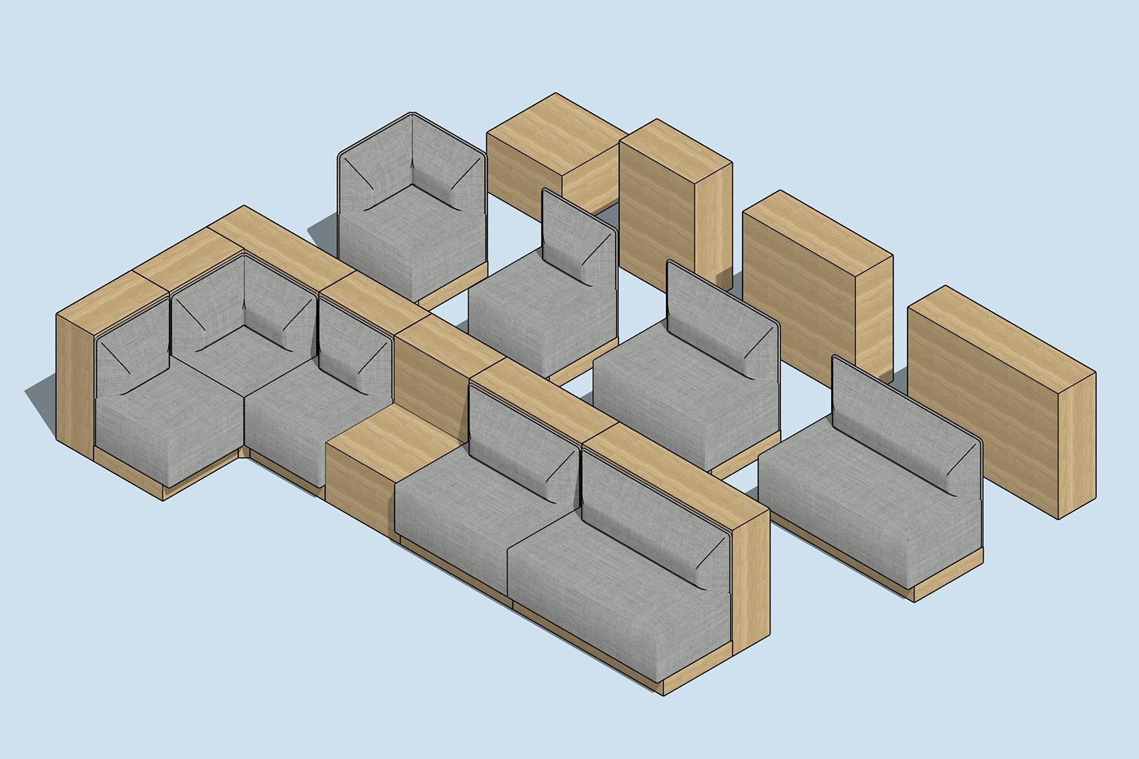 Bank Sofa deconstructed