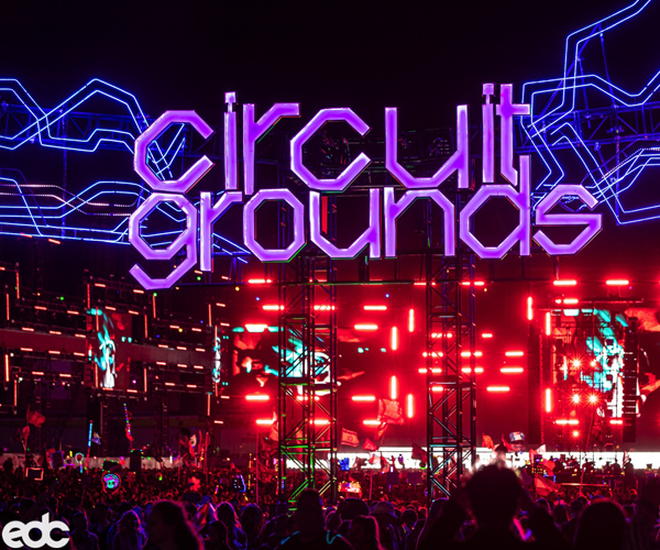 Electric Daisy Festival Circuit Grounds Stage