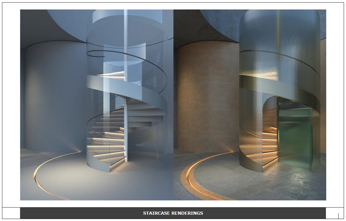 Staircase in SketchUp