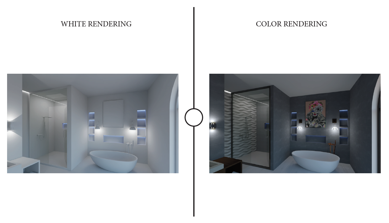 V-Ray rendering 3D models