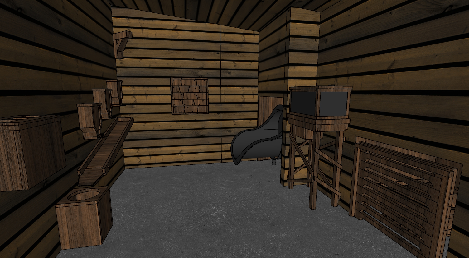 The Escape Game using SketchUp