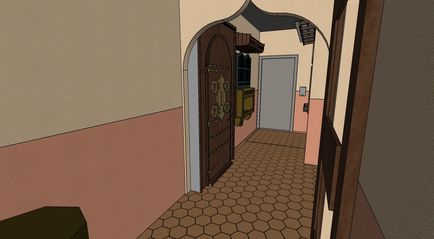 The Escape Game in 3D
