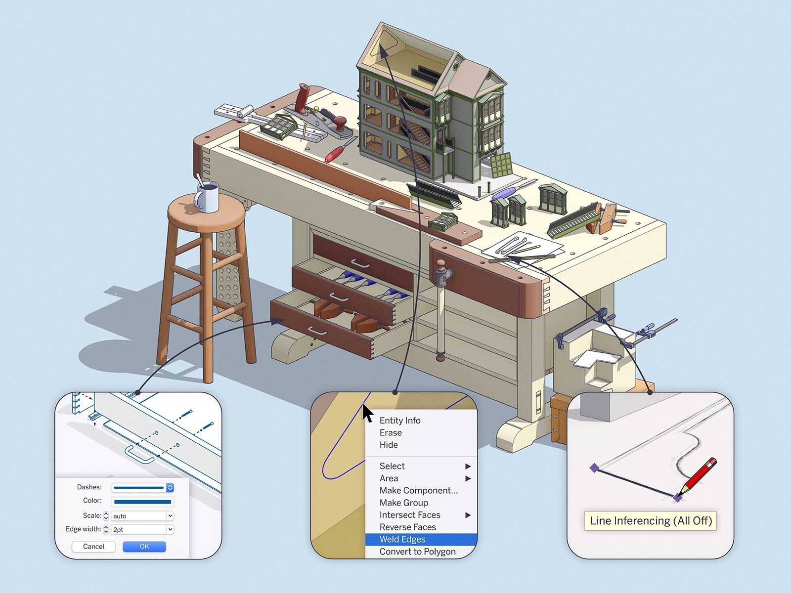 Review SketchUp 2020.2