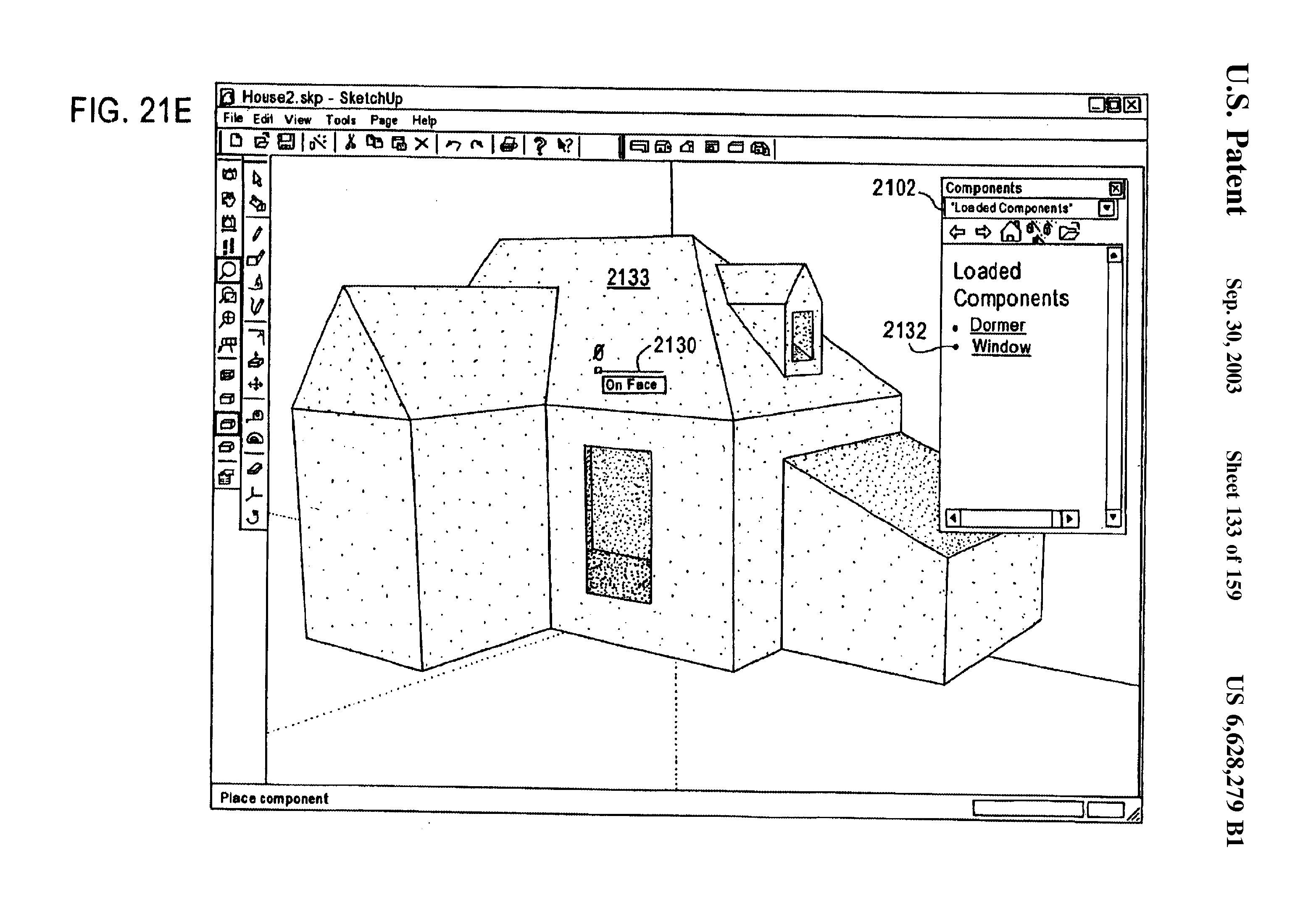 U.S. Patent for SketchUp