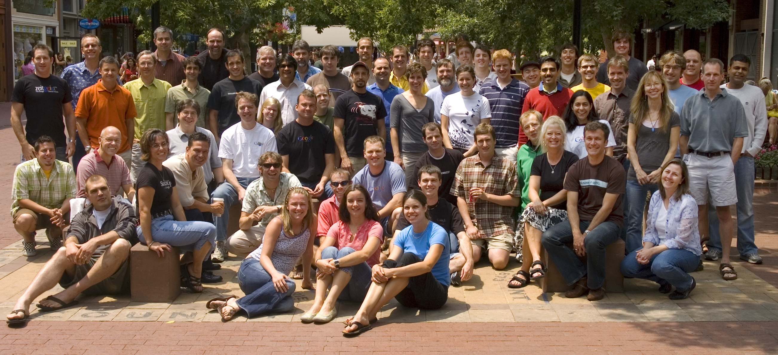 The SketchUp Team in Boulder 2007