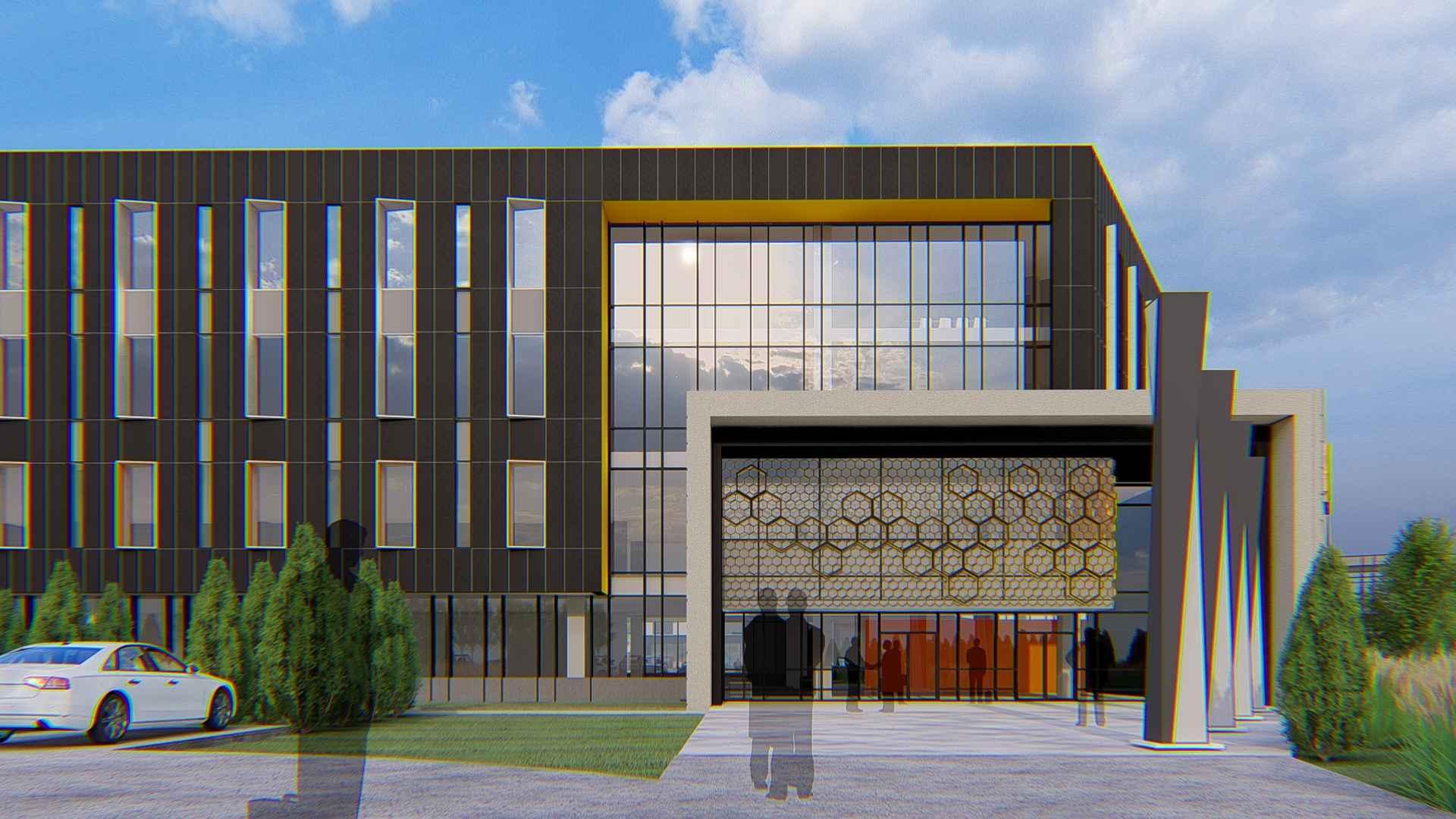New entry on Aldevron campus