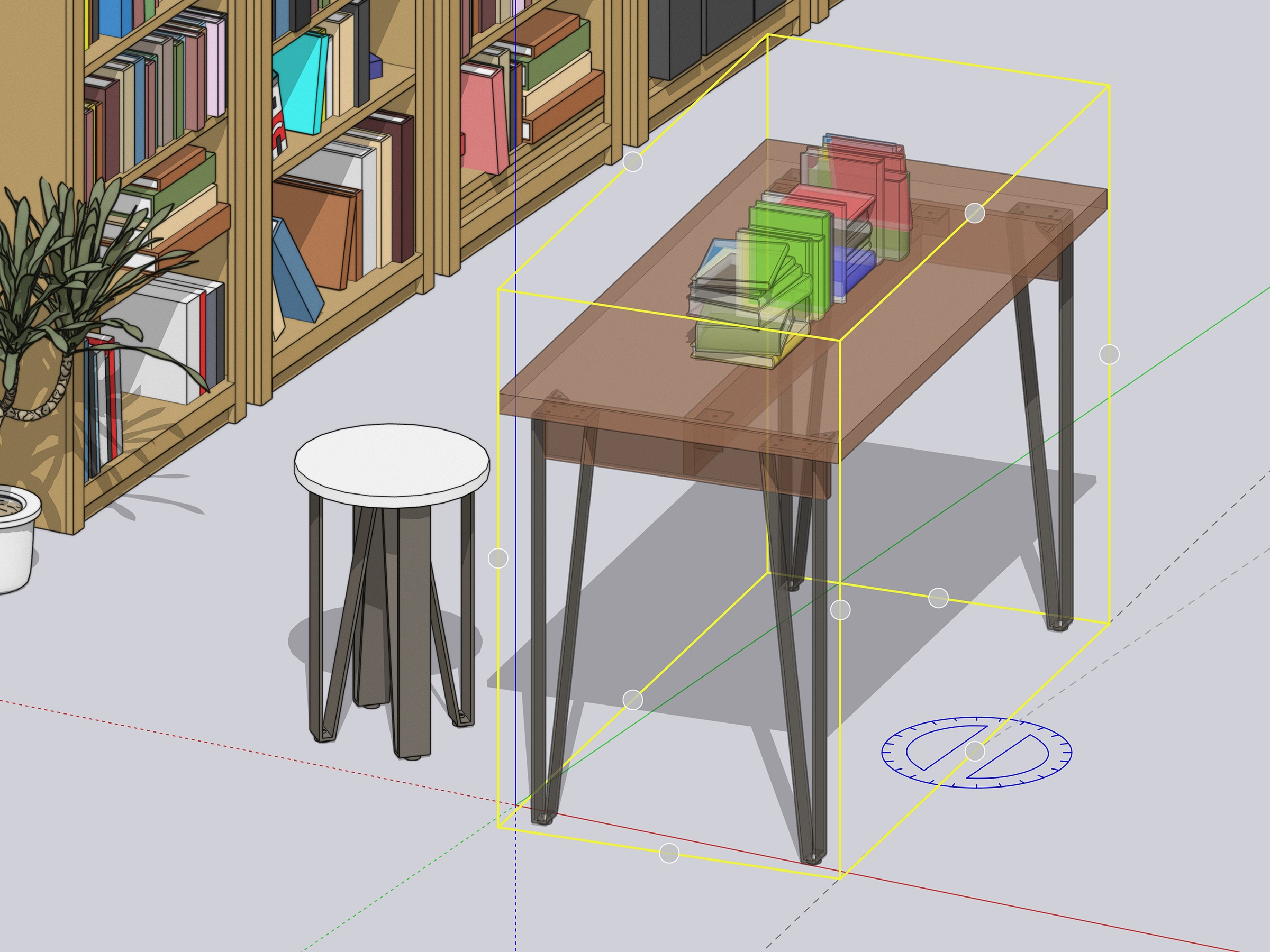 Grip Control in SketchUp