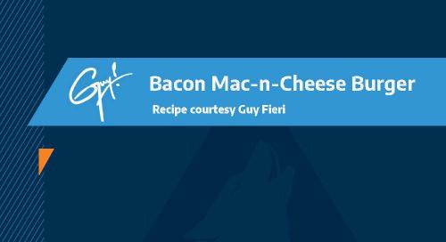 Guy Fieri Recipe: Bacon Mac-N-Cheese Burger