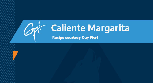 Guy Fieri Recipe: Caliente Margarita