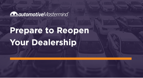 The 35-Point Checklist You Need For Reopening Your Dealership