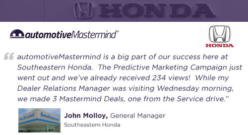 Southeastern Honda Testimonial