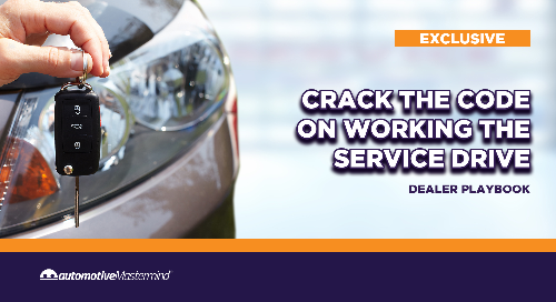 Crack the Code on Working the Service Drive: Dealer Playbook