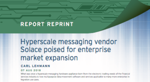 Hyperscale messaging vendor Solace poised for enterprise market expansion