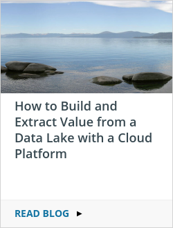 How to Build and Extract Value from a Data Lake with a Cloud Platform