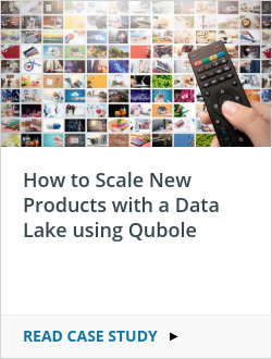 How to Scale New Products with a Data Lake using Qubole