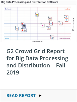 G2 Crowd Grid Report for Big Data Processing and Distribution | Fall 2019