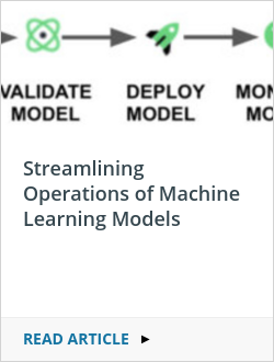 Streamlining Operations of Machine Learning Models