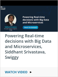 Powering Real-time decisions with Big Data and Microservices, Siddhant Srivastava, Swiggy