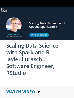 Scaling Data Science with Spark and R - Javier Luraschi, Software Engineer, RStudio