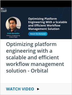 Optimizing platform engineering with a scalable and efficient workflow management solution - Orbital