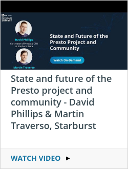 State and future of the Presto project and community - David Phillips & Martin Traverso, Starburst