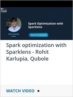 Spark optimization with Sparklens - Rohit Karlupia, Qubole