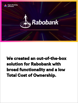 We created an out-of-the-box solution for Rabobank with broad functionality and a low Total Cost of Ownership
