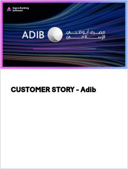 CUSTOMER STORY - Adib