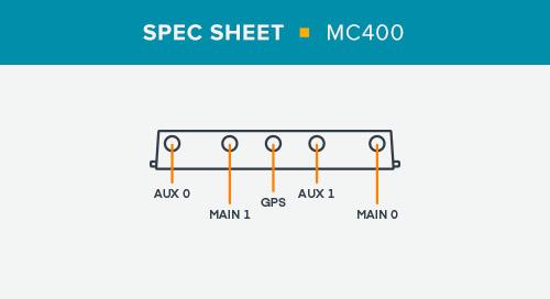 MC400 Spec Sheet