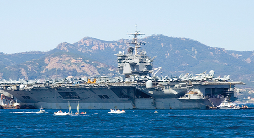 USS Enterprise Improves Wireless Connectivity for Crew