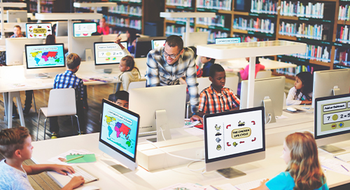 The Evolving Network for K-12 Schools