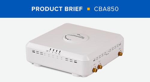 CBA850 Product Brief