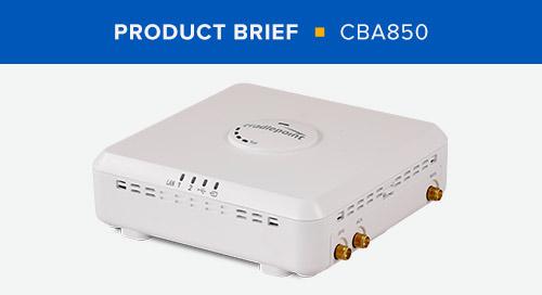 CBA850 Product Brief