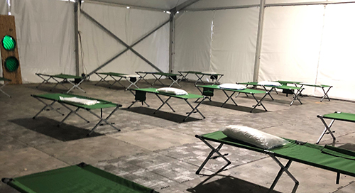 Fort Benning Uses LTE Kits to Quickly Connect Quarantine Tents During COVID-19 Pandemic