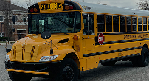 School Buses Bring Wi-Fi to South Bend Students and Residents During Pandemic