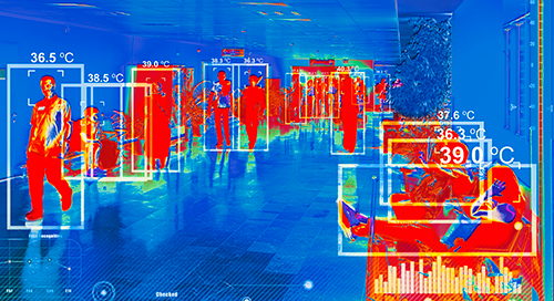 Thermal Imaging Cameras, AI and LTE Enable Safer Screenings as Employees Return to Offices