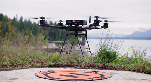 Cellular-Connected Drone Flights Deliver COVID-19 Tests from Island to Nearest Lab
