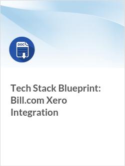Tech Stack Blueprint: Bill.com Xero Integration
