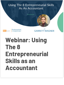 Webinar: Using The 8 Entrepreneurial Skills as an Accountant