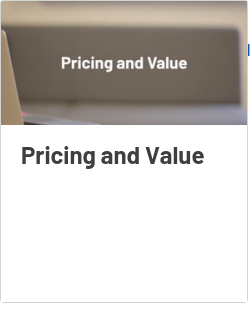 Pricing and Value