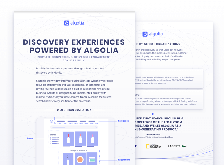 illustration for: 'How to use Algolia product (business version)'""