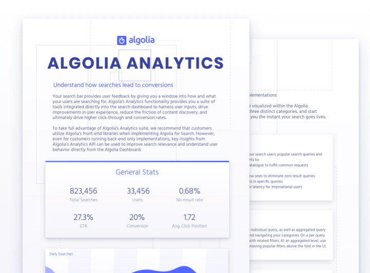 Algolia Analytics