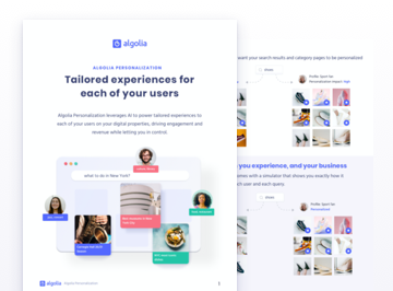 illustration for: 'Personalization: tailored experiences for each of your users'""