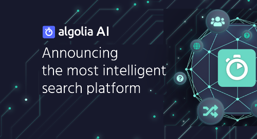 illustration for: 'Algolia AI Fall '20 Webinar'""