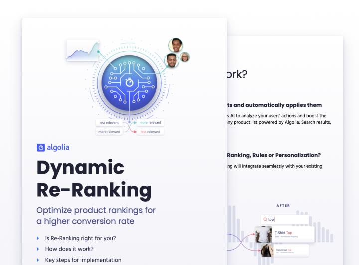 Dynamic Re-Ranking