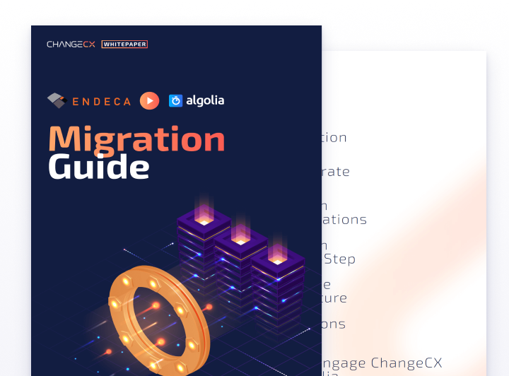 Endeca to Algolia Migration Guide