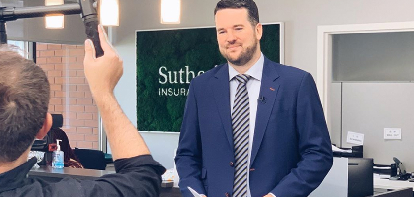 Zac Sutherland, Vice-President at Sutherland Insurance