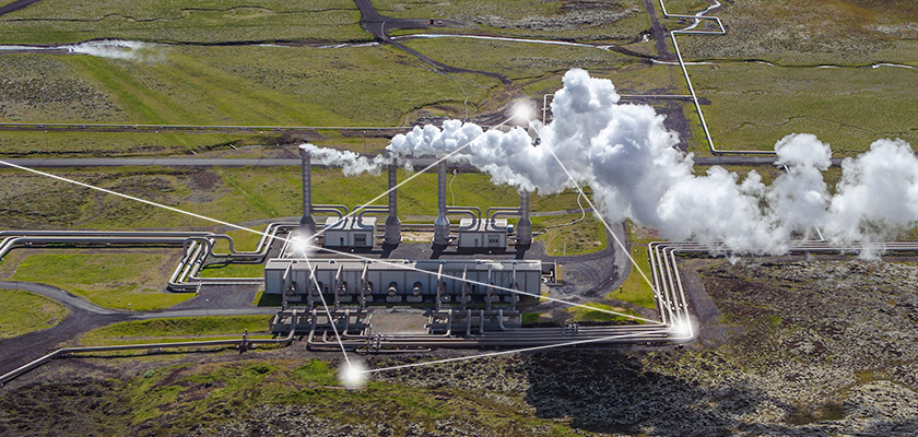 Geo thermal power plant