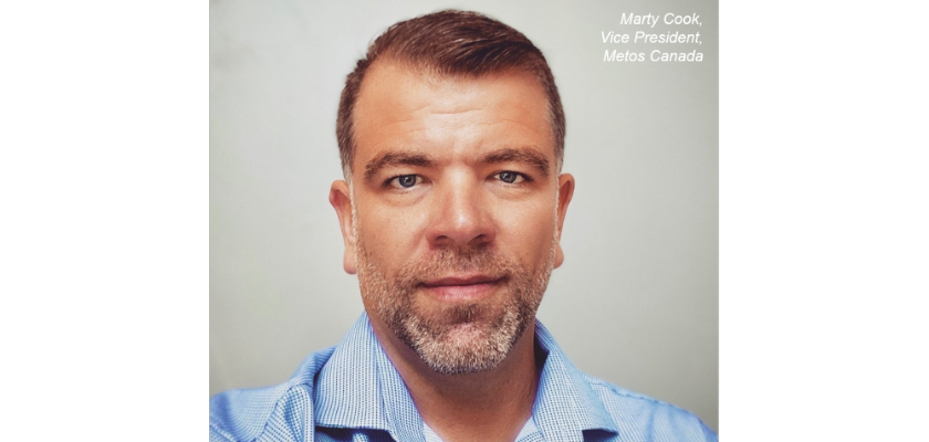 Photo of Vice President of Metos Canada, Marty Cook